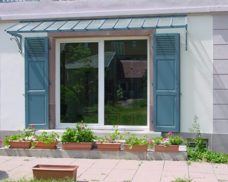 Baie coulissant PVC Mulhouse
